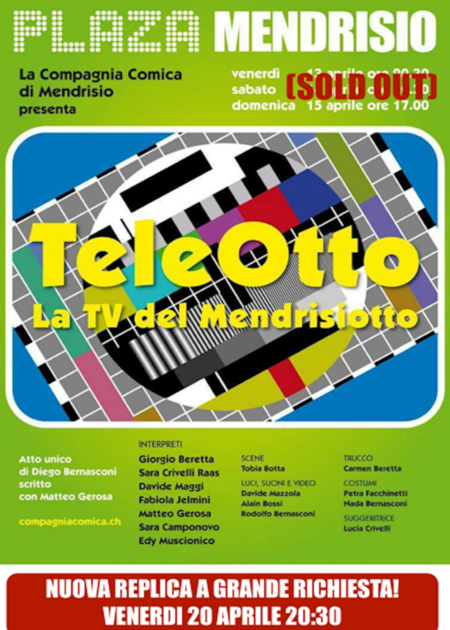 TeleOtto - La TV del Mendrisiotto