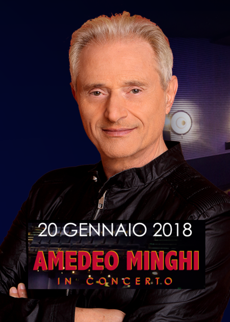 Amedeo Minghi in CONCERTO al Plaza